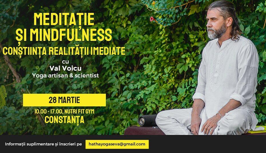 workshop de meditatie cu Val Voicu